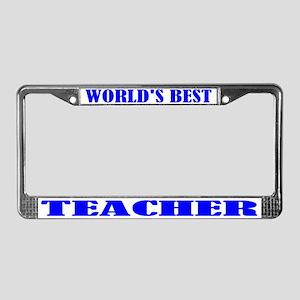 Best Teacher License Plate Frame