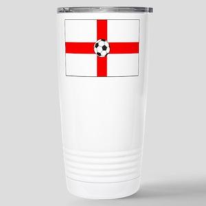 soccer flag-England Stainless Steel Travel Mug