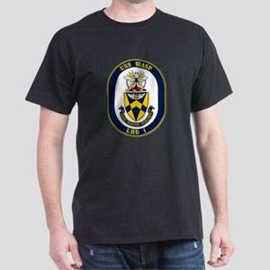 USS Wasp LHD-1 Navy Ship Dark T-Shirt