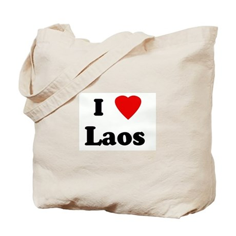 I Love Laos Tote Bag