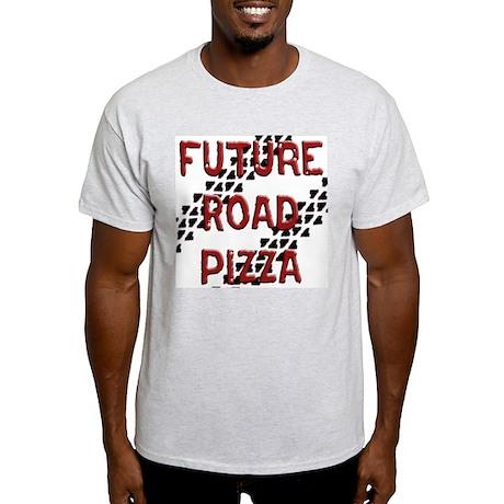 Future Road Pizza Ash Grey T-Shirt