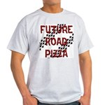 Future Road Pizza Ash Grey T-Shirt