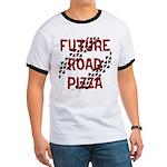 Future Road Pizza Ringer T