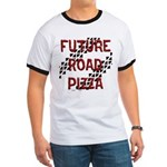Future Road Pizza Ringer T