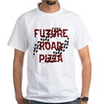 Future Road Pizza White T-Shirt