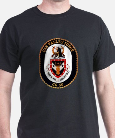 USS Valley Forge CG-50 Navy Ship T-Shirt