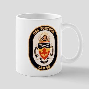 USS Tortuga LSD-46 Navy Ship Mug