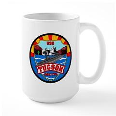 USS Tucson SSN-770 Navy Ship Large Mug