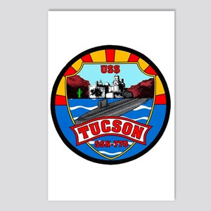 USS Tucson SSN-770 Navy Ship Postcards (Package of