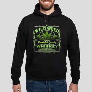 WILD WEED WHISKEY Hoodie (dark)