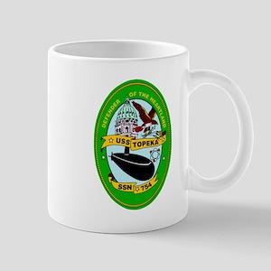 USS Topeka SSN-754 Navy Ship Mug