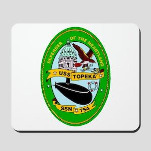 USS Topeka SSN-754 Navy Ship Mousepad