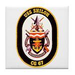 USS Shiloh CG-67 Navy Ship Tile Coaster