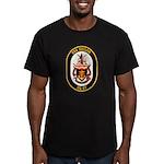 USS Shiloh CG-67 Navy Ship Men's Fitted T-Shirt (d