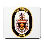 USS Shiloh CG-67 Navy Ship Mousepad