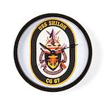 USS Shiloh CG-67 Navy Ship Wall Clock
