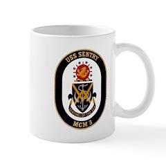 USS Sentry MCM-3 Navy Ship Mug