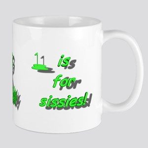 The Short Grass Is For Sissies! Coffee Mug