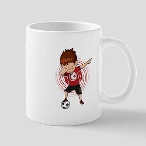 Football Dab Tunisia Tunisian Footballer Dabb Mugs