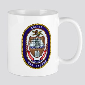 USS Salvor ARS 52 Navy Ship Mug