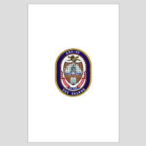 USS Salvor ARS 52 Navy Ship Large Poster
