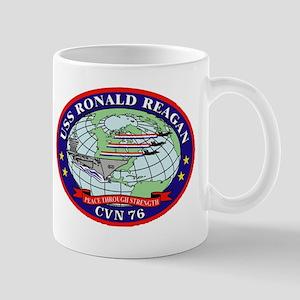 USS Ronald Regan CVN-76 Navy Ship Mug