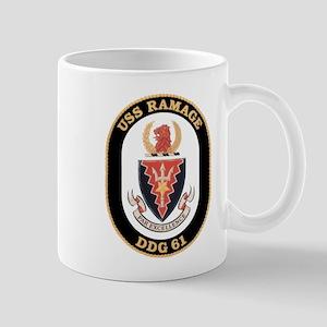 USS Ramage DDG-61 Navy Ship Mug