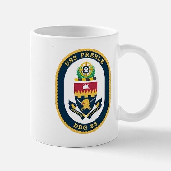USS Preble DDG-88 Navy Ship Mug