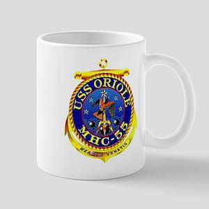 USS Oriole MHC-55 Navy Ship Mug