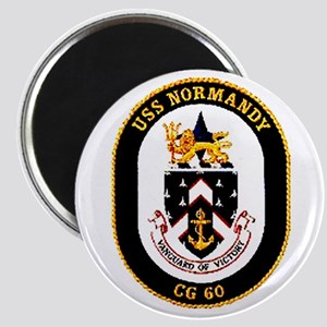 USS Normandy CG-60 Navy Ship Magnet