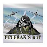 Veterans Day Tile Coaster