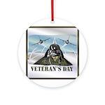 Veterans Day Ornament (Round)