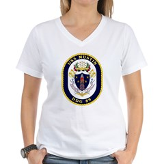 USS Mustin DDG-89 Navy Ship Shirt