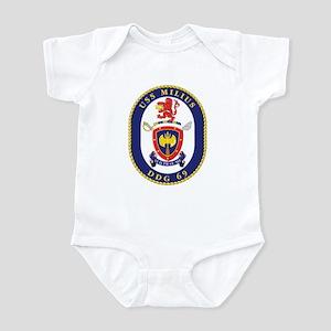 USS Milius DDG-69 Navy Ship Infant Bodysuit