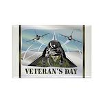 Veterans Day Rectangle Magnet