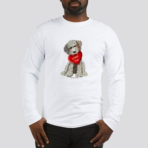 WOOF YOU Doodle Love Long Sleeve T-Shirt