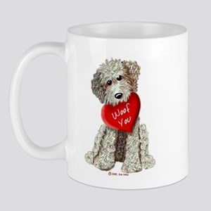 WOOF YOU Doodle Love Mug