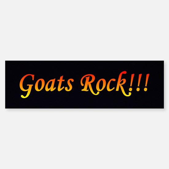 Goats Rock bumper sticker