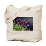 Lavender Flower Cotton Tote Bag