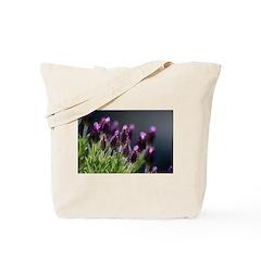 Lavender Flower Cotton Tote Bag