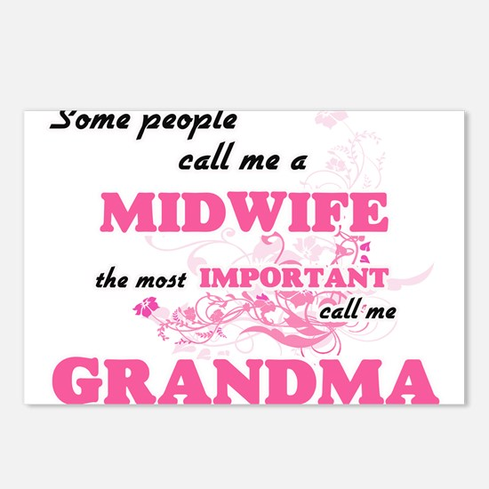 Some call me a Midwife, t Postcards (Package of 8)
