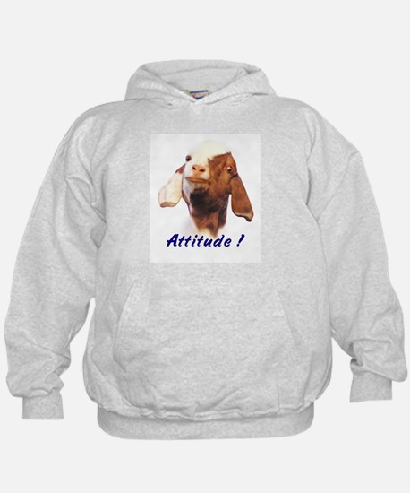 Goat-Boer with Attitude Hoodie