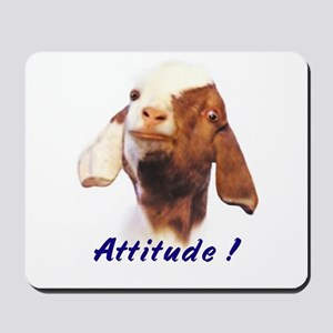 Goat-Boer with Attitude Mousepad