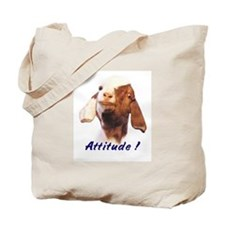 Goat-Boer with Attitude Tote Bag
