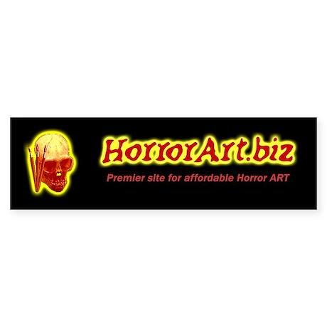 Horror Art Bumper Sticker
