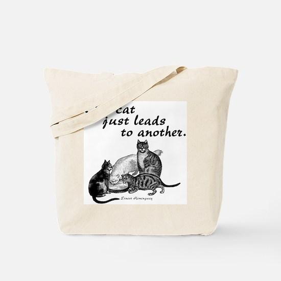 One Cat Tote Bag
