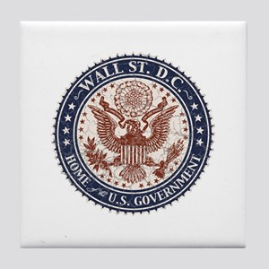 Wall St. D.C. Tile Coaster