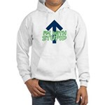 I'm With Stupid silly Hooded Sweatshirt