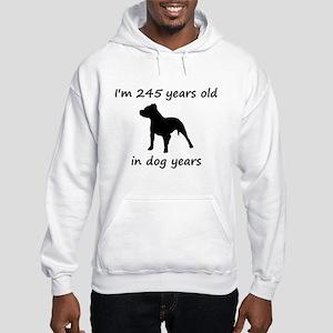 35 Dog Years Pitbull 1 Sweatshirt