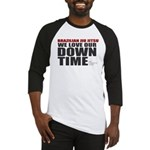 BJJ Down Time Baseball Jersey